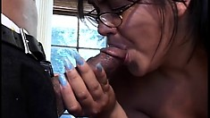 Naughty Alyiah loves spreading her legs and getting her cunt licked