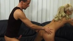 Charming Young Blonde Helena Loves To Suck Dick And To Get Fucked Hard