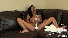 Priya Rai is gagging for a man sandwich and a gallon of jizz