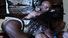 Lustful babe Monique seduces Devlin Weed and no hole is left untouched