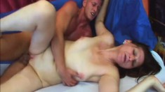 Lustful mature Jindra has a young man taking care of her sexual urges