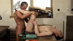 Pretty Guy With A Big Cock Gives A Nice Blowjob And Relishes Anal Sex
