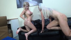 Gorgeous and horny blonde cuties Bibi Noel and Gigi Allens get nailed