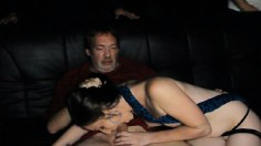 Dixie Enjoys An Explosion Of Wild Sex With Hung Guys In A Porn Theater