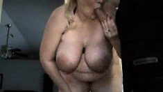 A Creampie With A Side Of Big Boobs