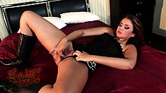 Allie Haze screams with pleasure as she is fucked repeatedly