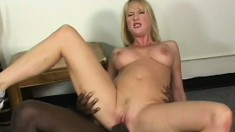 Bubble butt MILF loves every minute of this deep black dicking