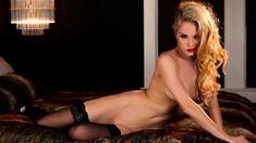 Petite Body Natural Playboy Models Strip