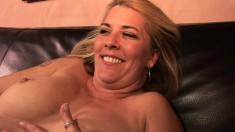Curvy lesbian besties kick it up a notch with a golden strap-on