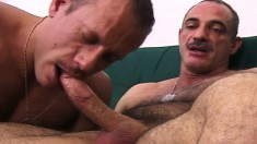 Muscled army stud can't get enough of a hard stick hammering his ass