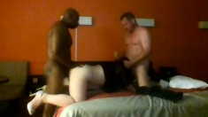 Fat bbw interracial threesome