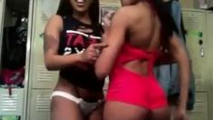 Ebony Strippers Amazed By Webcam