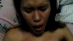 indonesia-kasir apotek tuban cum in mouth