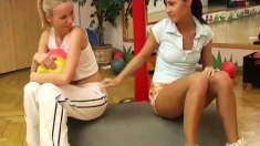 Teen Old Man Anal Cindy And Amber Fuckin' Each Other In